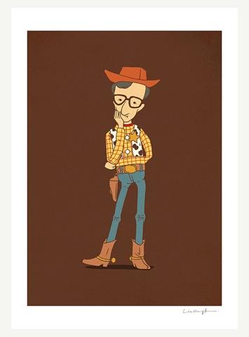 Woody Allen Print