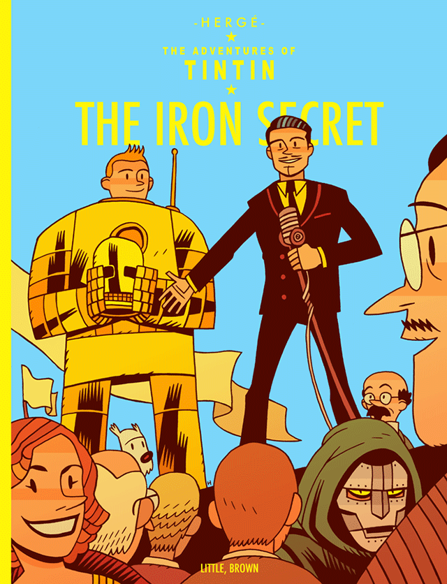Tintin And The Iron Secret