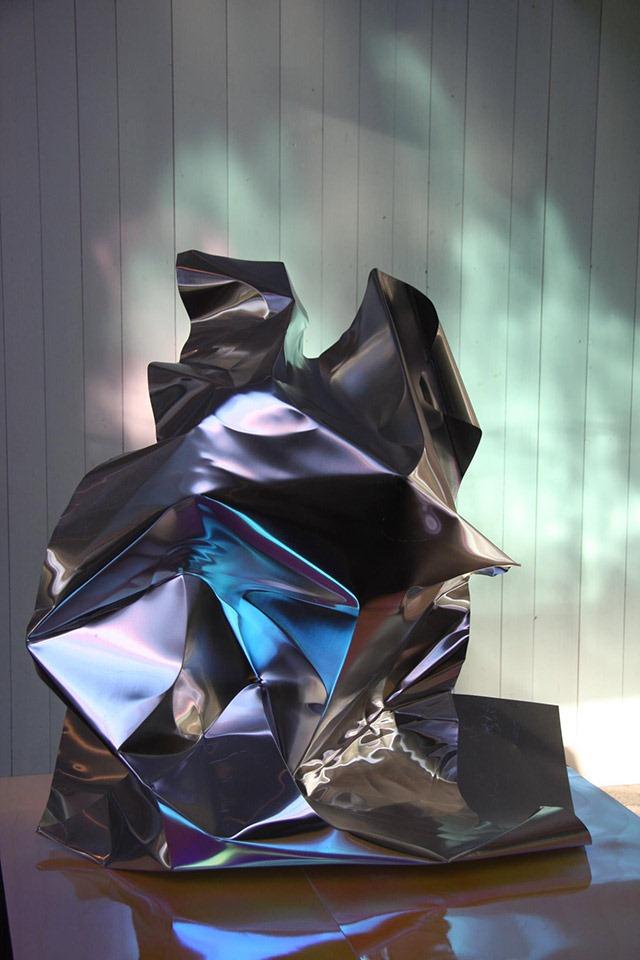 Jimmy Dahlberg's Hand-Formed Metal Sculptures