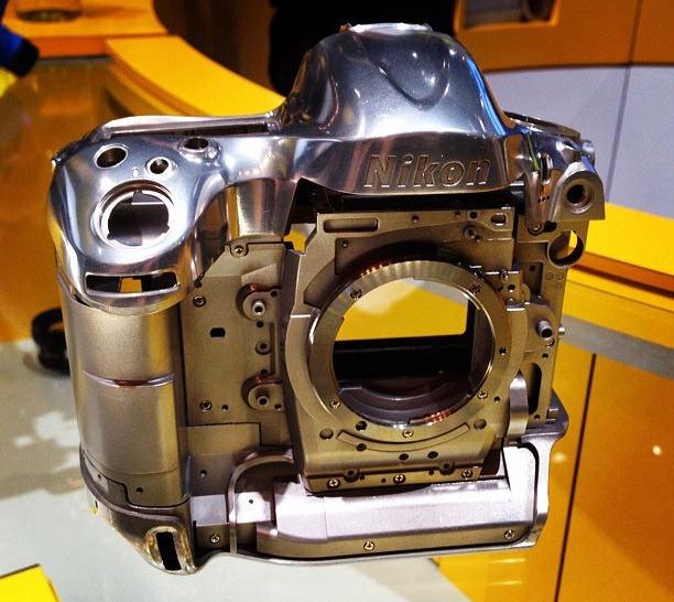 Nikon D4's Stunning Magnesium Alloy Frame