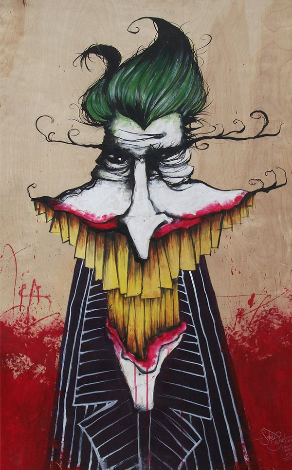 A Painting of The Joker