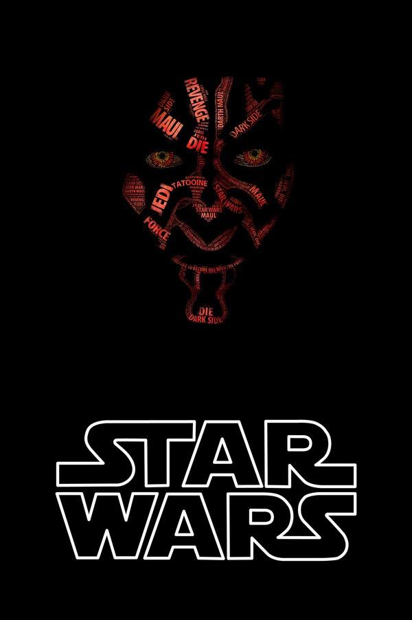 Darth-Maul-Star-Wars-Typographic-Portraits