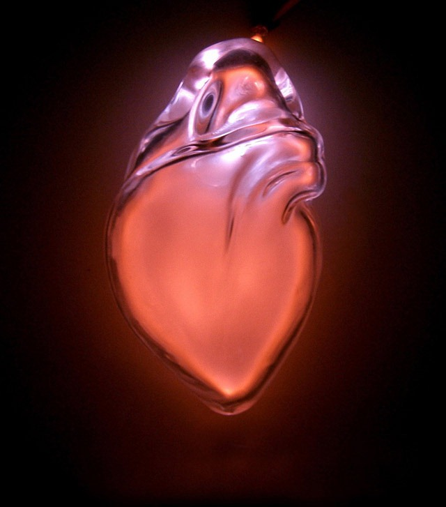 Anatomical Neon – Blown Glass Sculptures of Human Organs
