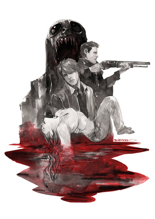Supernatural – Comic Book Cover