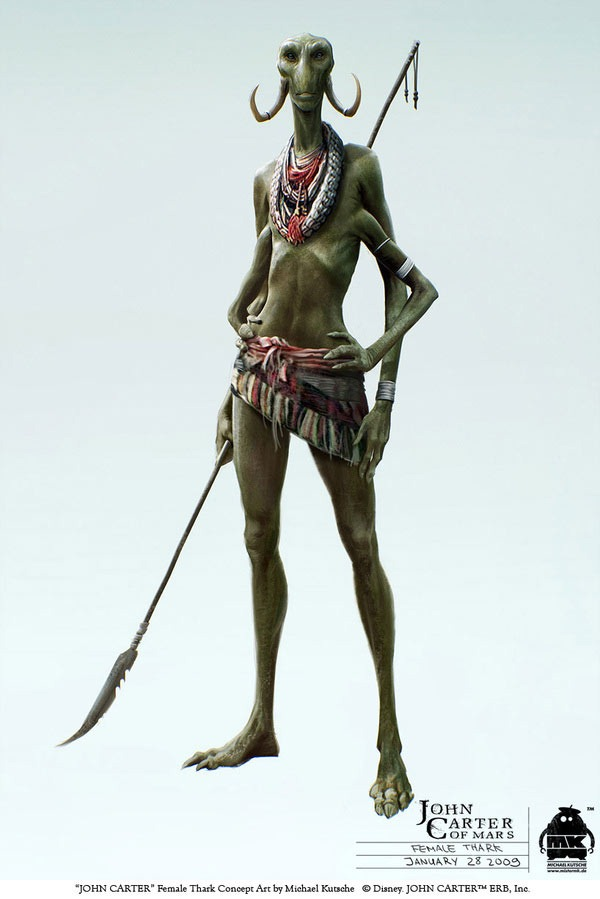 Character Design And Concept Art : Quot john carter character design and concept art