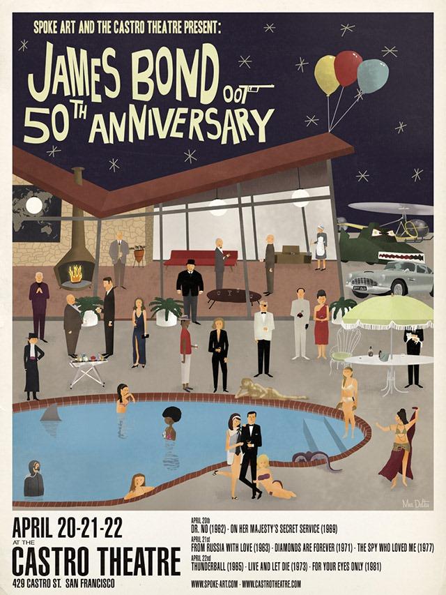 Max-Dalton-James-Bond-Spoke-Art-Castro-Theatre-Poster2