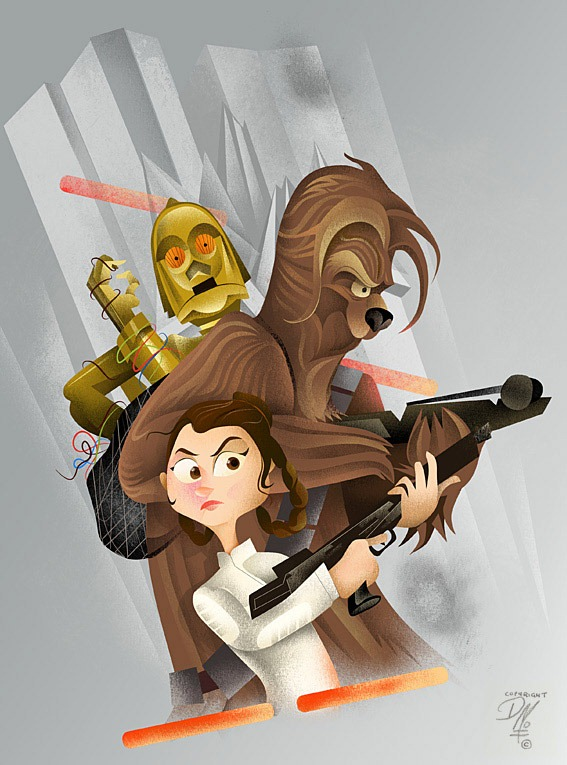 Star-Wars-Dave-Moss-Art