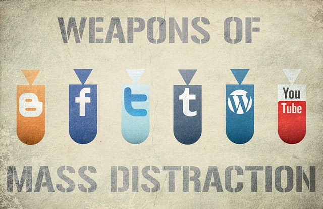 Weapons of Mass Distraction (JazJaz Flickr Pool)
