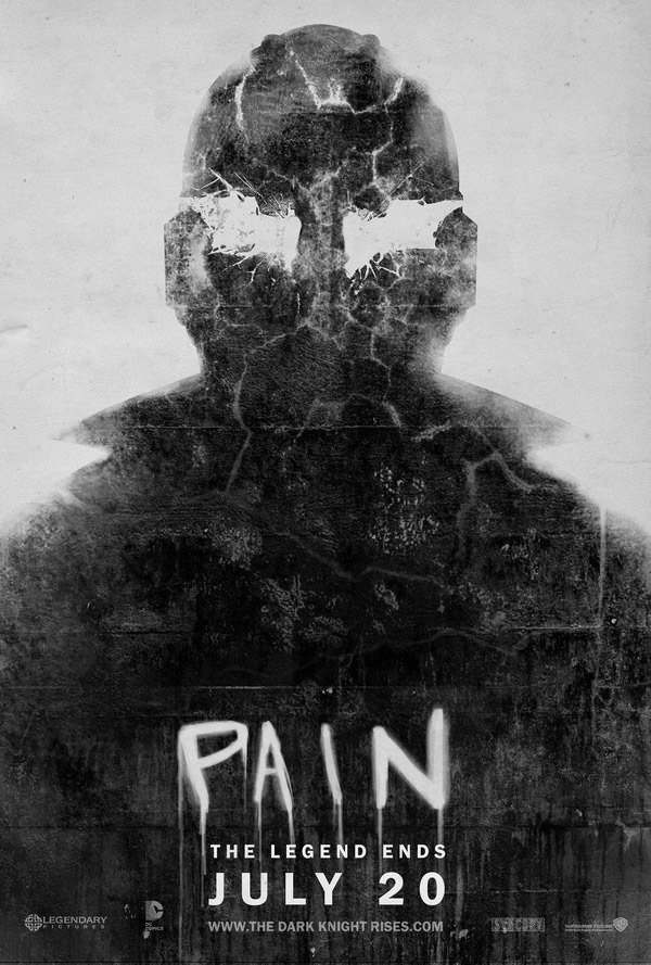 Batman and Bane Fan-Made Film Posters