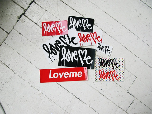 """Love Me"" Artist Curtis Kulig Opens New Online Shop"