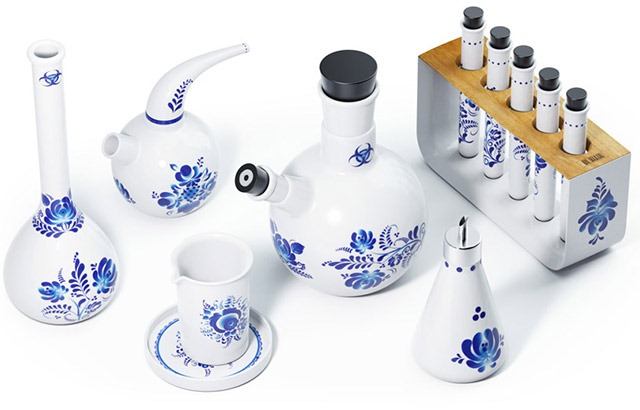 Ceramic Chemistry Set