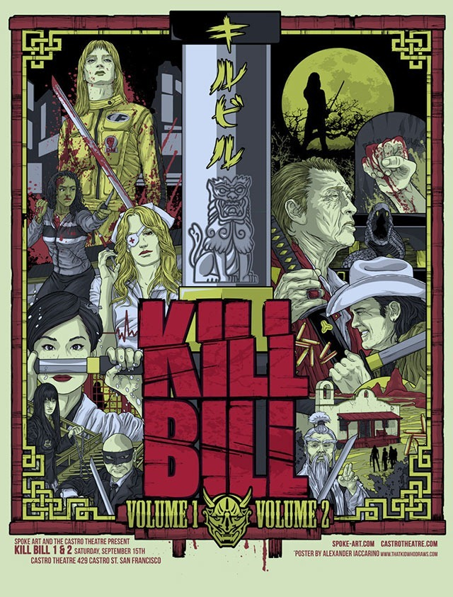 Kill Bill Vol. 1 & 2 Film Posters
