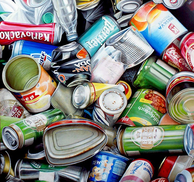 Stephane Dillies's Garbage Art