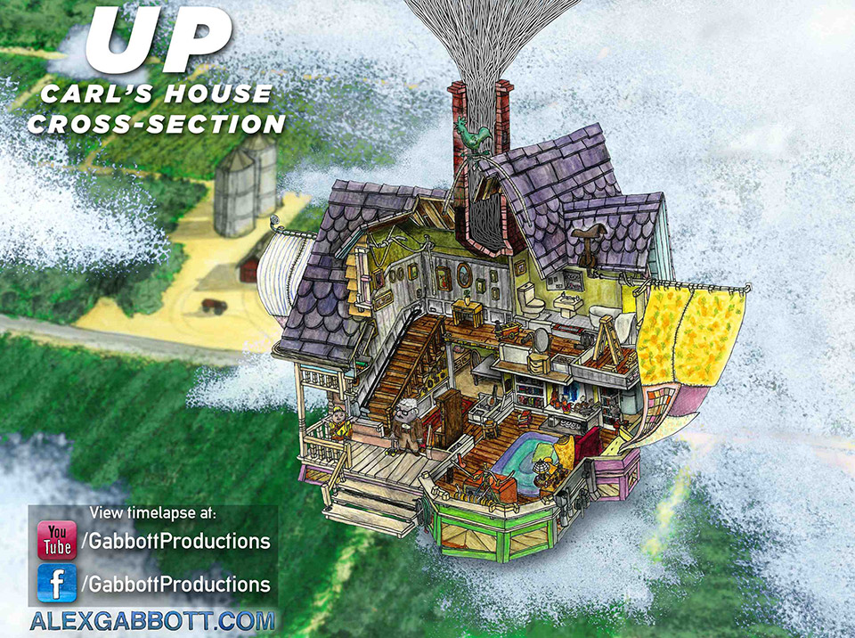 Cross-Section-of-the-House-from-Pixar's-UP