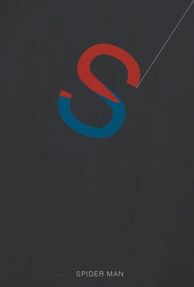 Spider-Man-Helvetica-Heroes