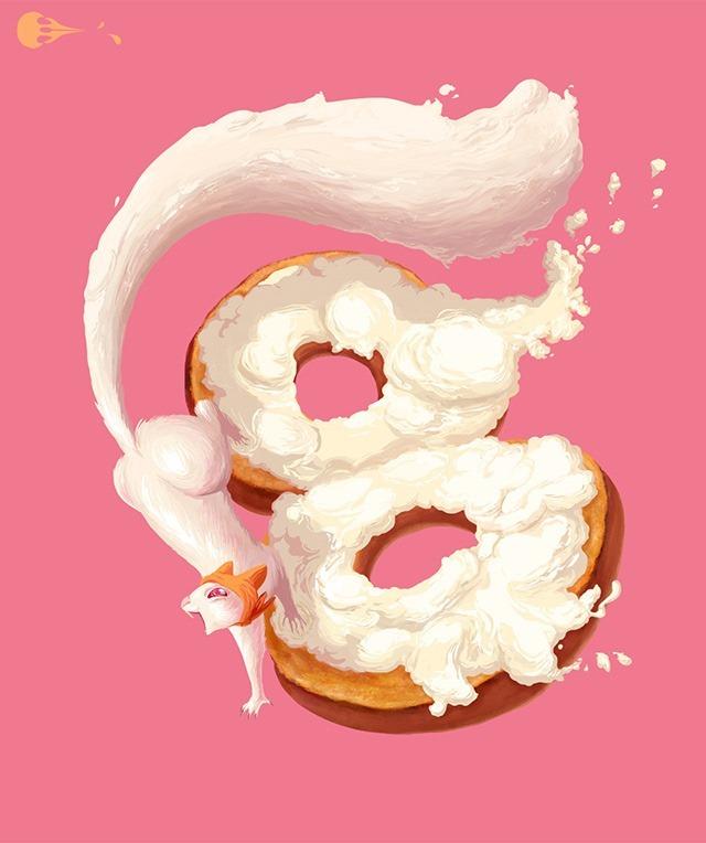 Cream-Cheese--Condiment-creatures-by-Imogen-Scoppie
