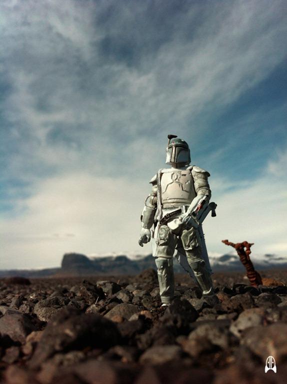 Boba Fett in Iceland