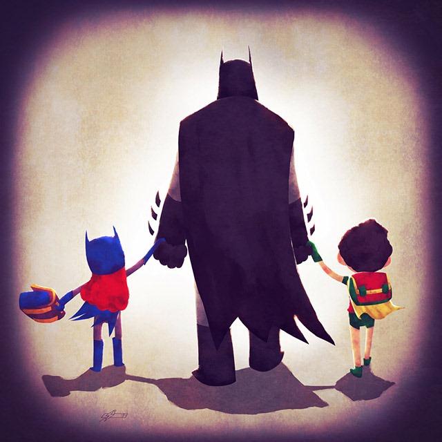 Batman-dad-Andry-Shango-Rajoelina