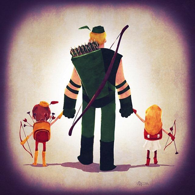 Green-Arrow-dad-Andry-Shango-Rajoelina