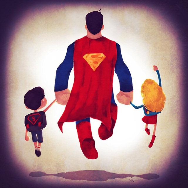Superman-dad-Andry-Shango-Rajoelina