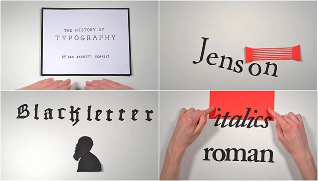 The-History-of-Typography---Animated-Short