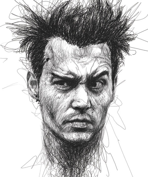 Johnny-Depp-Illustration-by-Vince-Low
