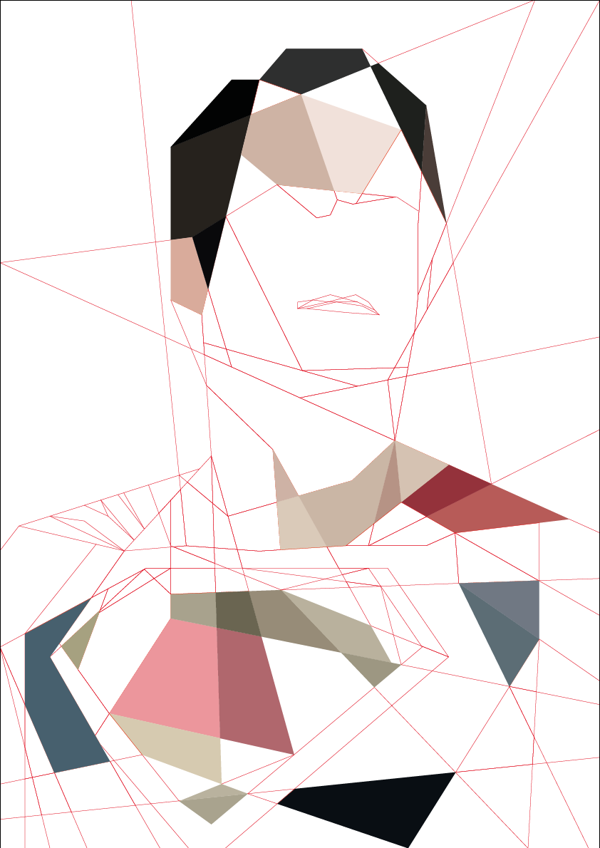 Man-of-Steel---Cubism-Art-by-Luis-Huertas-03