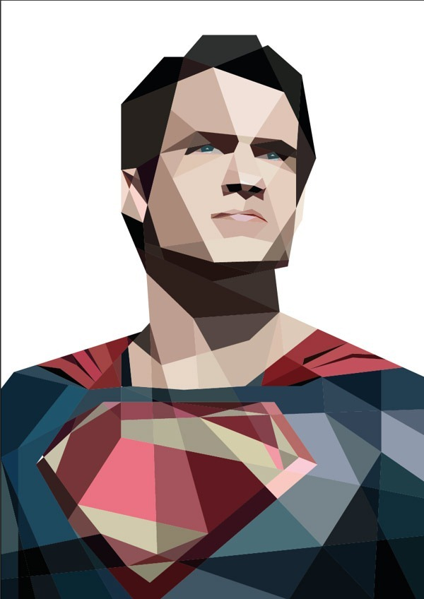 Man-of-Steel---Cubism-Art-by-Luis-Huertas-04