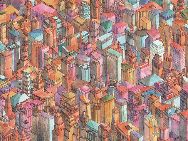 continuous_city_artprint