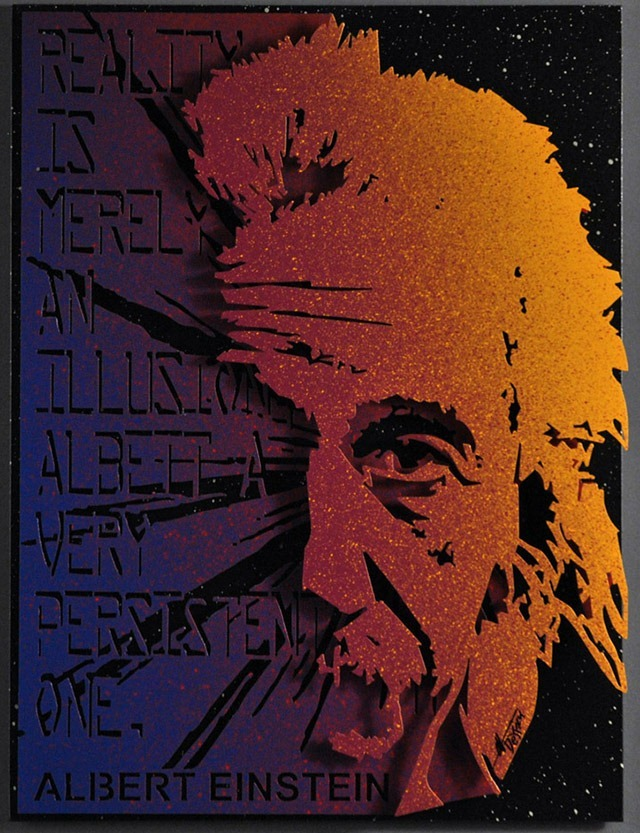 Alan-Derrick-Einstein_Art_Purple