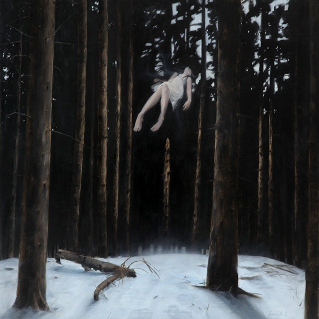 """Fallen"" – An Ethereal Painting by Henrik Uldalen"