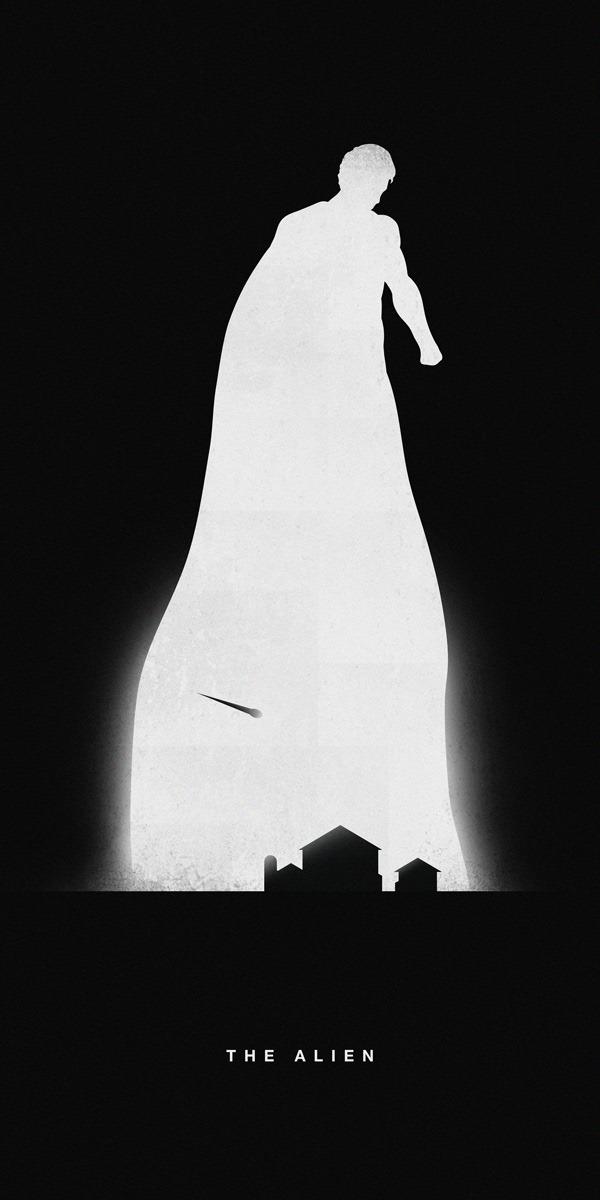 Superheroes---Past-&-Present---Superman---An-illustration-by-Khao-Ho