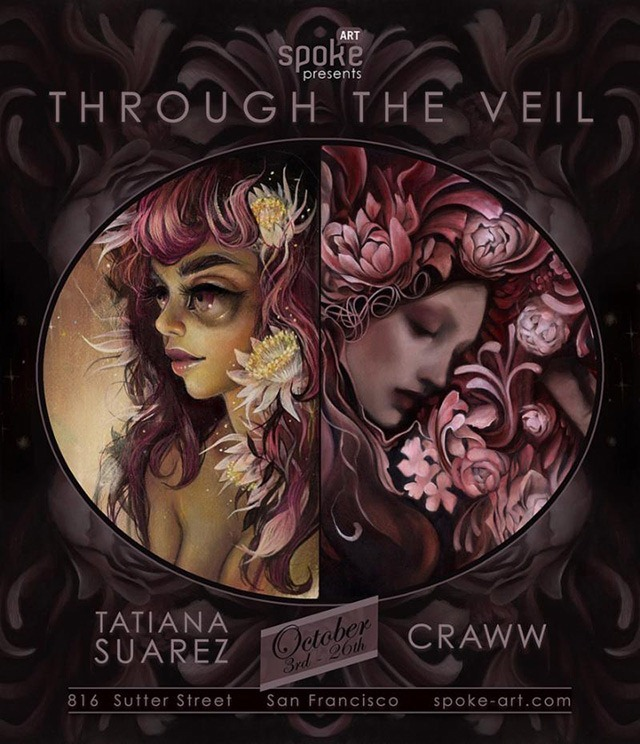 Throught-The-Veil-Art-Show-featuring-the-paintings-of-Tatiana-Suarez-and-Craww