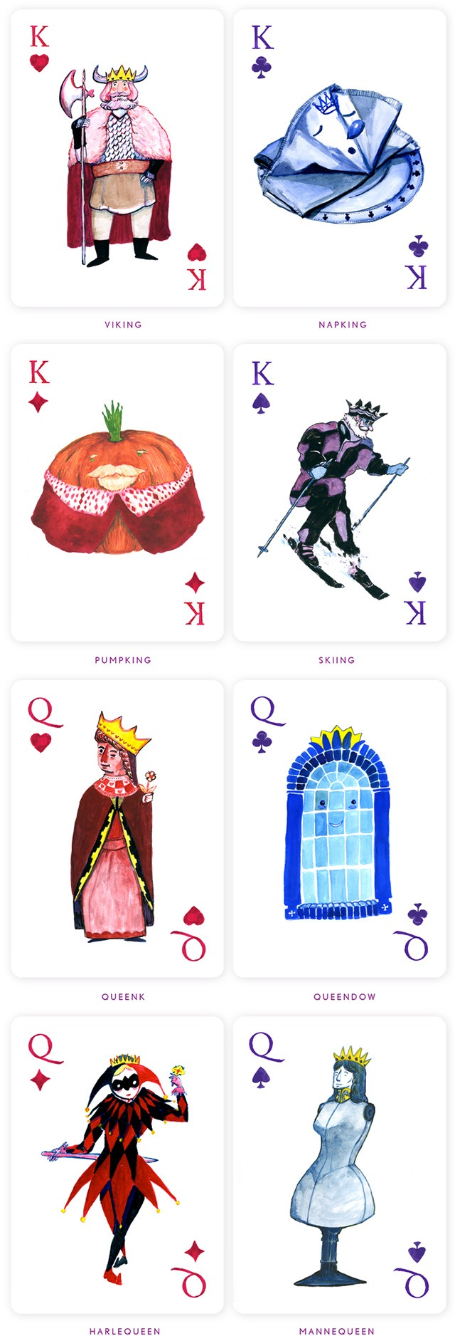 Kings-and-Queens-Punniest-Deck-of-Playing-Cards-by-by-Alberto-Rodriguez