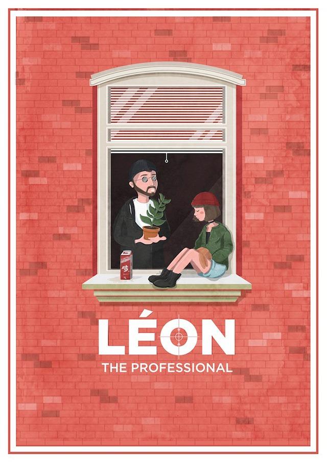 Leon-the-professional-for-the-show-I-am-the-law-Hero-Complex-gallery-(LA)-Maria-Suarez-Inclan