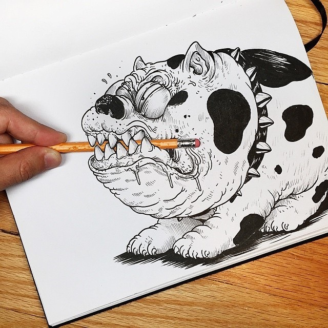 Inkteraction Illustrations by Alex Solis 06