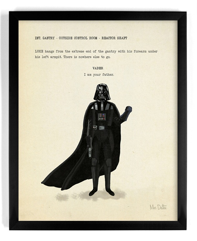 """I Am Your Father"" – An Amazing Art Print by Max Dalton"