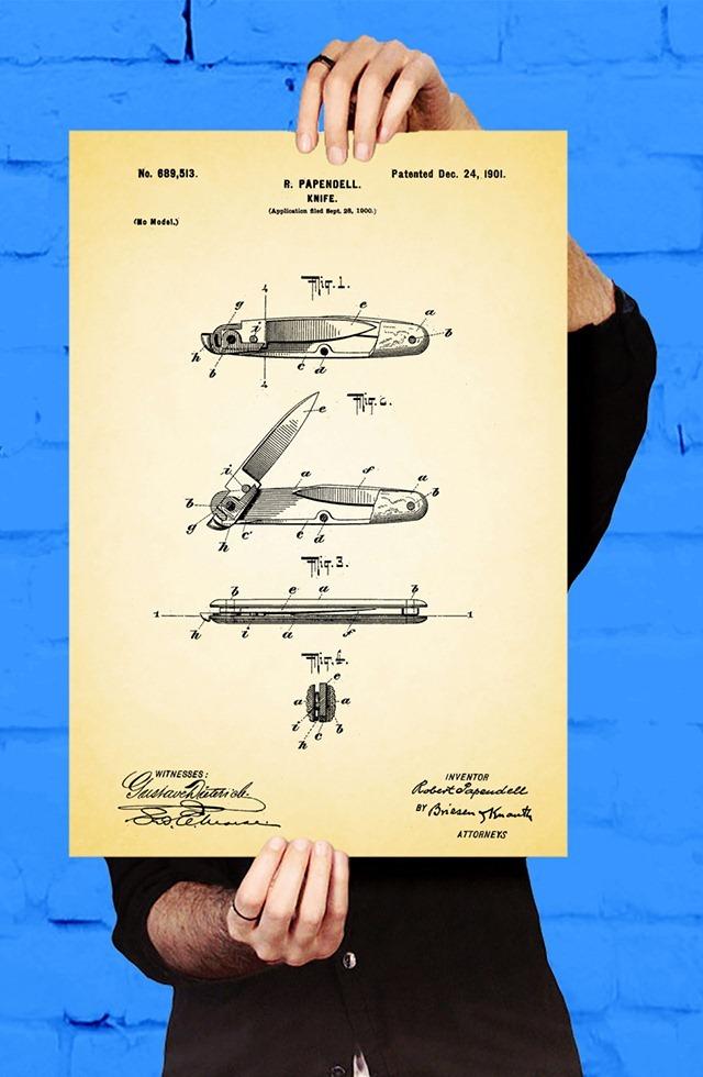 Pocketknife-Patent-Print-by-Jason-Stanley