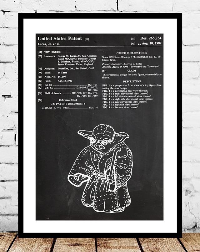 Yoda-Action-Figure-Patent-Print-by-Jason-Stanley