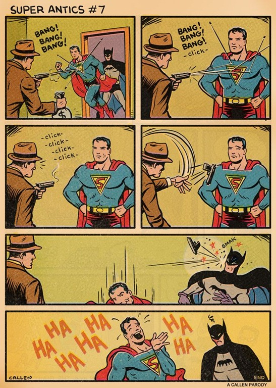 Superman's Antics (Comic)