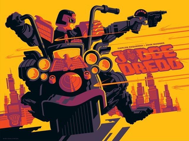 Judge_Dredd by Tom Whalen