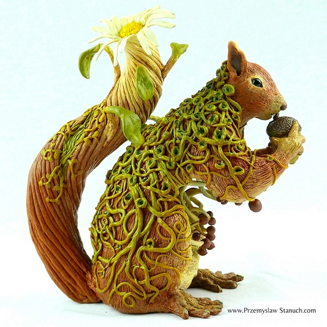The Charming Fantasy Sculptures of Polish Artist Przemyslaw Stanuch