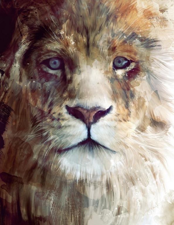 Stunning Animal Portraits by Artist Amy Hamilton