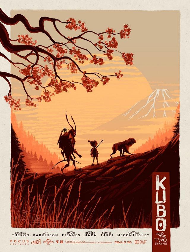 Kubo and the Two Strings Art Print by Matt Ferguson