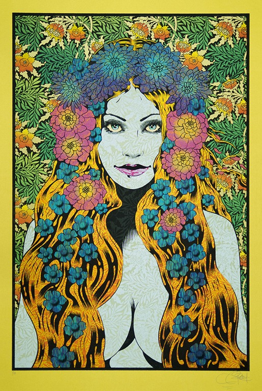'Helikon' – Solo Art Exhibit Featuring the Sensational Poster Art of Artist Chuck Sperry