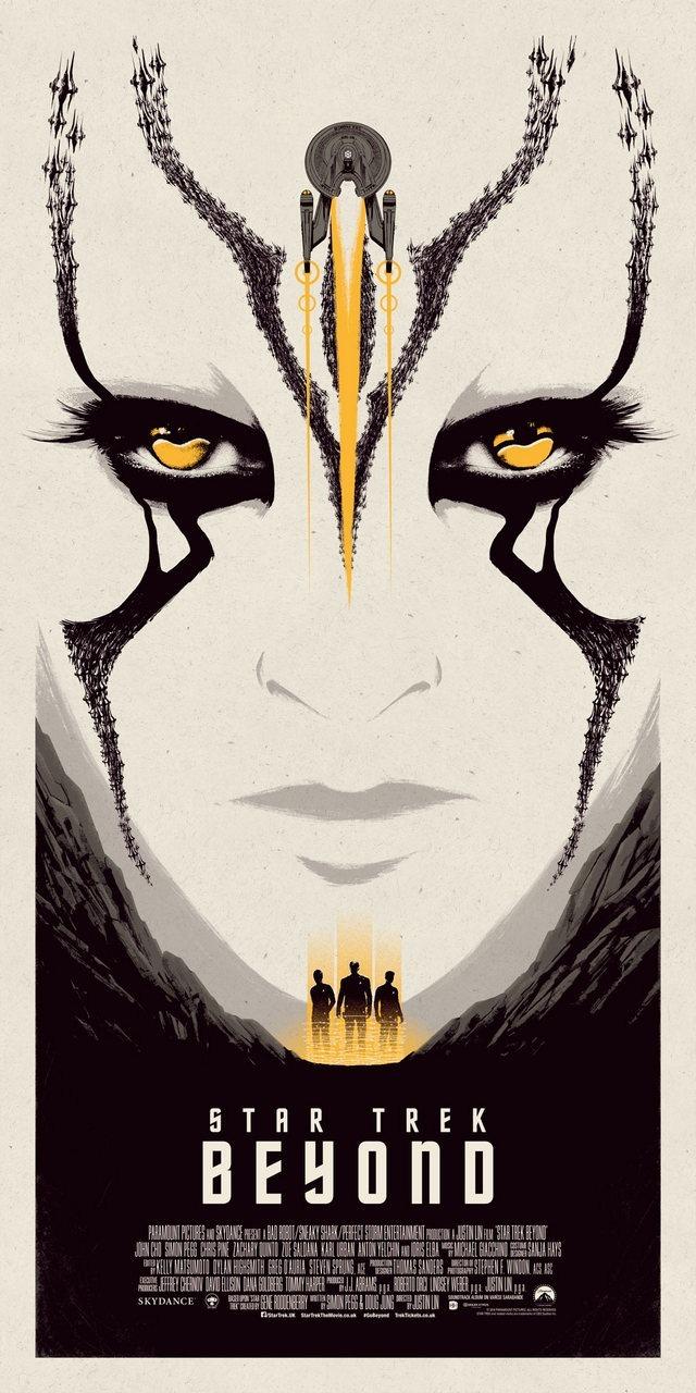 Star Trek Beyond Print Yellow Edition by Matt Ferguson