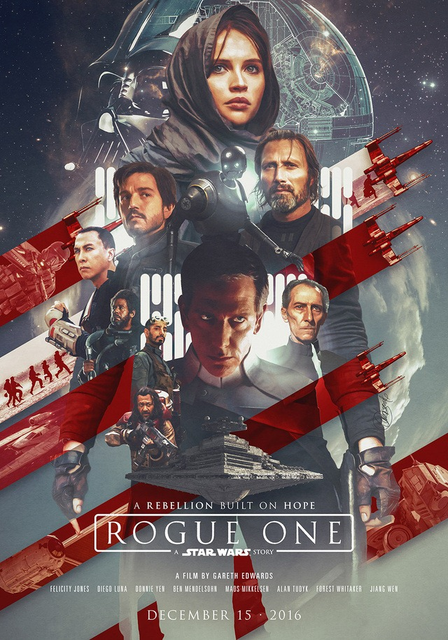 Star Wars Rogue One by Laura Racero