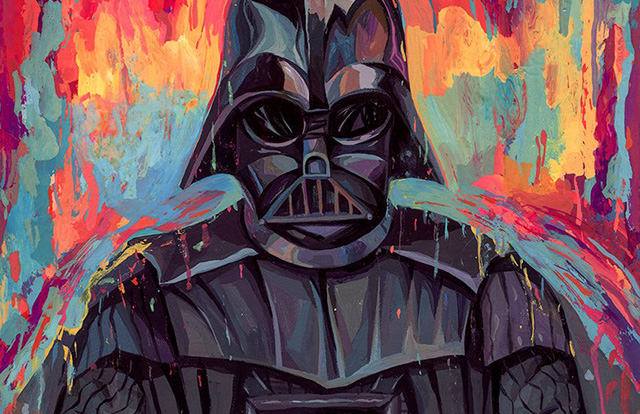 Must See Star Wars 'Dark Side' Portraits by Rich Pellegrino