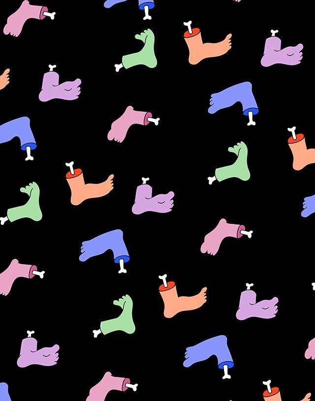 Jasmine Echols Graphic Design Illustrations Feet