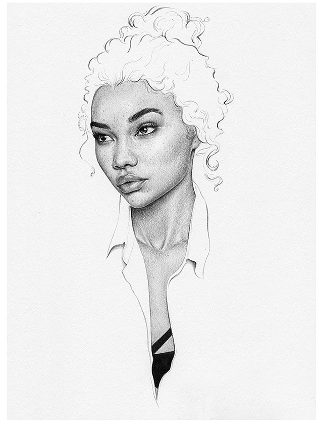 Pencil-Drawings-of-Beautiful-Woman-by-UK-Based-Artist-T.S-Abe-03